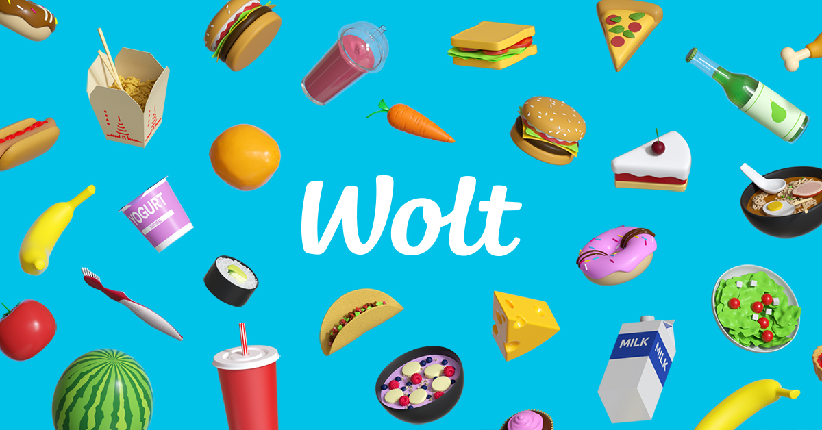 にお届け。 – Wolt